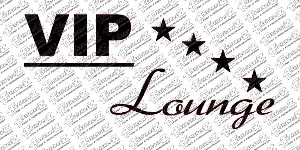 VIP-Lounge with Stars