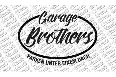 Garage Brothers Logo Klein